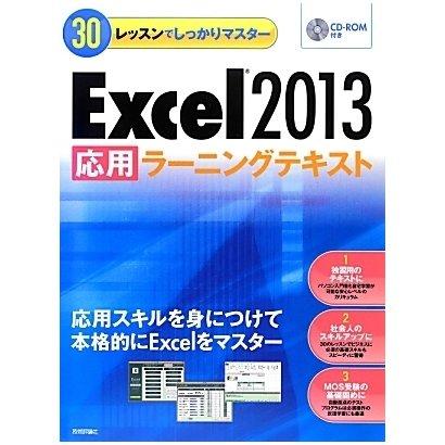 Excel2013「応用」ラーニングテキスト(30レッスンでしっかりマスター) [単行本]