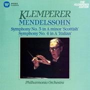 メンデルスゾーン:交響曲 第3番「スコットランド」 第4番「イタリア」