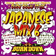"100% JAPANESE DUB PLATES MIX CD ""BURN DOWN STYLE"" -JAPANESE MIX vol.6-"