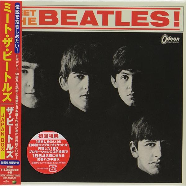 ザ・ビートルズ/ミート・ザ・ビートルズ JAPAN BOX