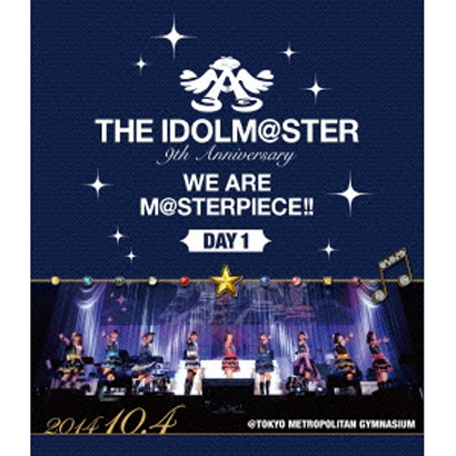 THE IDOLM@STER 9th Anniversary WE ARE M@STERPIECE!! DAY 1 [Blu-ray Disc]