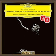 ベートーヴェン:交響曲第3番≪英雄≫・第4番