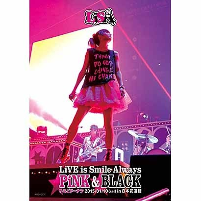LiSA/LiVE is Smile Always ~PiNK&BLACK~ in 日本武道館 「いちごドーナツ」 2015/01/10(sat) [Blu-ray Disc]