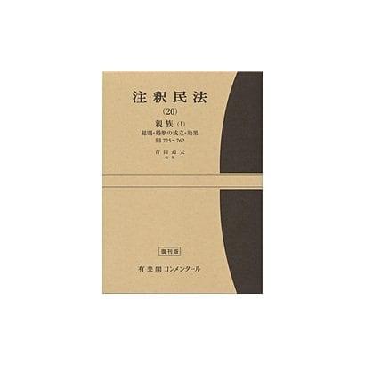 注釈民法 20 [全集叢書]
