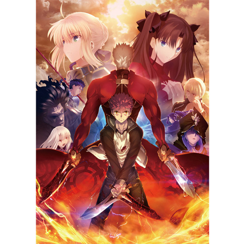 Fate/stay night [Unlimited Blade Works] Blu-ray Disc Box Ⅱ [Blu-ray Disc]