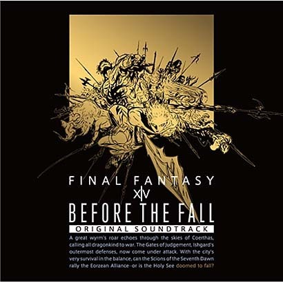 BEFORE THE FALL FINAL FANTASY ⅩⅣ Original Soundtrack [Blu-ray Disc]