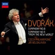 ドヴォルザーク:交響曲第8番&第9番≪新世界より≫