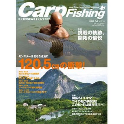 Carp Fishing Vol.16 (2015Fall)-コイ釣りNEWスタイルマガジン(別冊つり人 Vol. 406) [ムックその他]