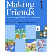 Making Friends〈1〉Social English for Adult Learners―大人のためのやり直し英会話1 [単行本]