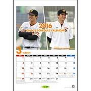 ジャイアンツスケジュールカレンダー 2016 [ムックその他]