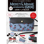 Disney MICKEY & MINNIE produced by OZOC お財布バッグBOOK [ムックその他]