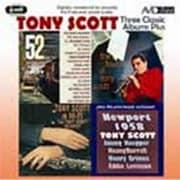 トニー・スコット|スリー・クラシック・アルバムズ・プラス