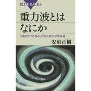 重力波とはなにか―「時空のさざなみ」が拓く新たな宇宙論(ブルーバックス) [新書]
