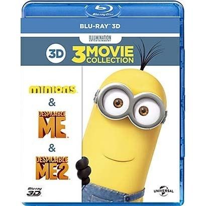 怪盗グルー/危機一発/ミニオンズ ベストバリュー3Dセット [Blu-ray Disc]