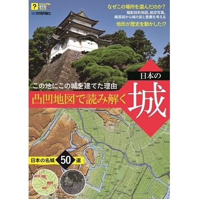凸凹地図で読み解く 日本の城 ~この地にこの城を建てた理由(ルビ:わけ) [単行本]