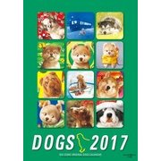 2017年度版 村松誠 犬カレンダー [カレンダー]