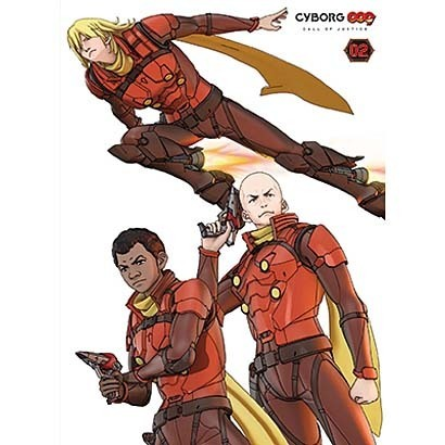 CYBORG 009 CALL OF JUSTICE Vol.2 [Blu-ray Disc]
