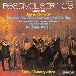 ジェイムズ・ゴールウェイ/UHQCD DENON Classics BEST モーツァルト:フルート協奏曲第1番&第2番 アンダンテ ハ長調 K.315