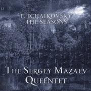 チャイコフスキー:四季 弦楽五重奏とクラリネット版