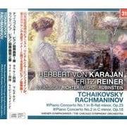 リヒテル/ルービンシュタイン/チャイコフスキー/ラフマニノフ:ピアノ協奏曲第1番・第2番 (NAGAOKA CLASSIC CD) [ムック・その他]