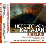 カラヤン/シベリウス:交響曲第2番・交響詩 「フィンランディア」 (NAGAOKA CLASSIC CD) [ムック・その他]