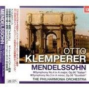 クレンペラー/メンデルスゾーン:交響曲第4番 「イタリア」・第3番 「スコットランド」 (NAGAOKA CLASSIC CD) [ムック・その他]