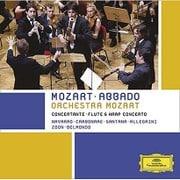 モーツァルト:協奏交響曲 フルートとハープのための協奏曲