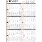 1年カレンダーA2 2018 [単行本]