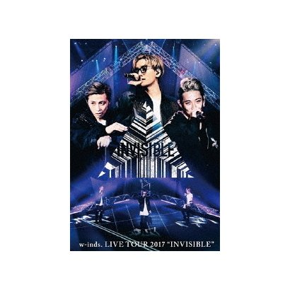 "w-inds. LIVE TOUR 2017 ""INVISIBLE"" [DVD]"