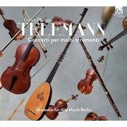 テレマン : 多数の楽器のための協奏曲集 輸入盤 日本語帯・解説付 [CD]