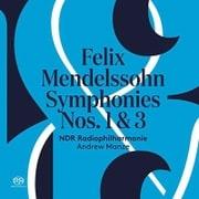 メンデルスゾーン : 交響曲 第1番 & 第3番 「スコットランド」 輸入盤 日本語帯・解説付 [CD]