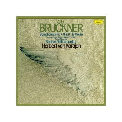 ヘルベルト・フォン・カラヤン/ブルックナー:交響曲第7番・第8番・第9番 テ・デウム ワーグナー:ジークフルート牧歌