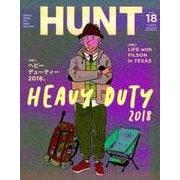 HUNT Volume.18 (2018 WINTER)(NEKO MOOK 2661) [ムックその他]