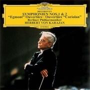 ベートーヴェン:交響曲第1番・第2番 ≪エグモント≫≪コリオラン≫序曲