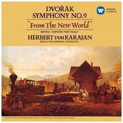 ヘルベルト・フォン・カラヤン/ドヴォルザーク:交響曲 第9番「新世界より」 シベリウス:交響曲 第2番 他