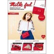 Milkfed. Ribbon Wallet Shoulder Bag Book [ムック・その他]