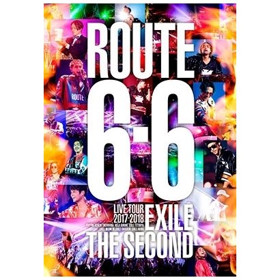 EXILE THE SECOND/EXILE THE SECOND LIVE TOUR 2017-2018 ROUTE 6・6 [DVD]