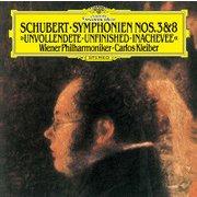 シューベルト:交響曲第3番・第8番≪未完成≫