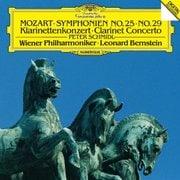 モーツァルト:交響曲第25番・第29番 クラリネット協奏曲