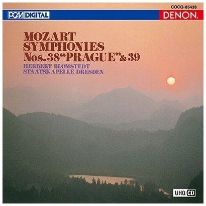 ヘルベルト・ブロムシュテット/UHQCD DENON Classics BEST モーツァルト:交響曲第38番≪プラハ≫/交響曲第第39番
