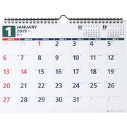No.E64 エコカレンダー壁掛 A4 2019年1月始まり [ムック・その他]