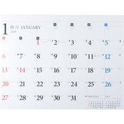 2019年 カレンダー 壁掛け B3 E51 [ムック・その他]