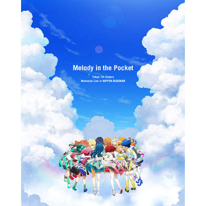 """Tokyo 7th Sisters/Tokyo 7th Sisters Memorial Live in NIPPON BUDOKAN """"Melody in the Pocket"""" [Blu-ray Disc]"""