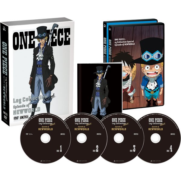 ONE PIECE Log Collection Special Episode of NEWWORLD [DVD]
