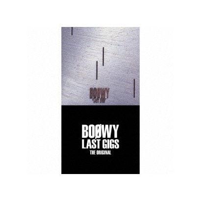 BOOWY/LAST GIGS THE ORIGINAL
