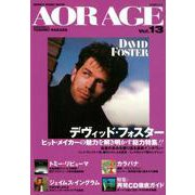 AOR AGE Vol.13 (シンコー・ミュージックMOOK) [ムックその他]