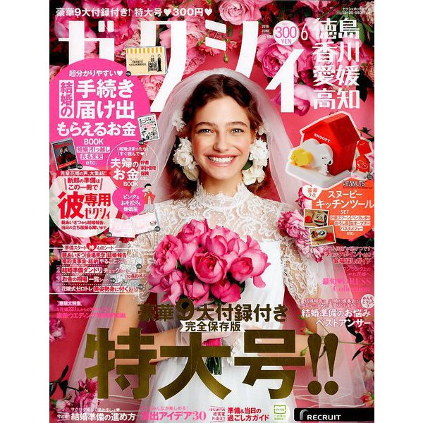 ゼクシィ 徳島・香川・愛媛・高知版 2019年 06月号 [雑誌]