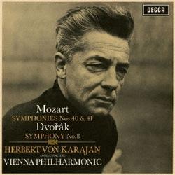 ヘルベルト・フォン・カラヤン/モーツァルト:交響曲第40番・第41番≪ジュピター≫ ドヴォルザーク:交響曲第8番