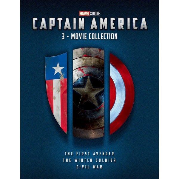 キャプテン・アメリカ:3ムービー・コレクション [UltraHD Blu-ray]