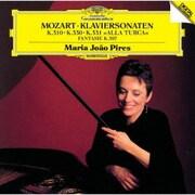 モーツァルト:ピアノ・ソナタ第8番・第10番・第11番、幻想曲K397